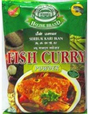 HOUSE BRAND FISH CURRY POWDER 250G